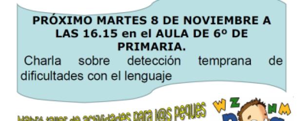 Charla Logopedia