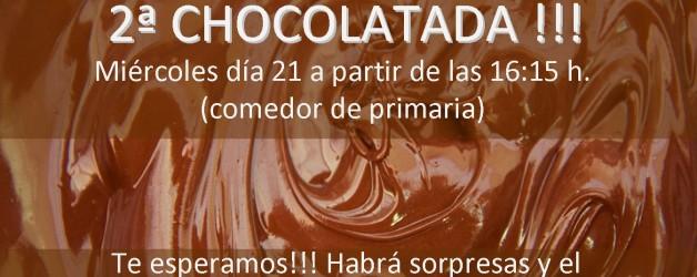 Chocolatada el día 21