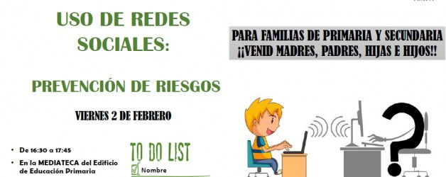 DINÁMICA: USO DE REDES SOCIALES 2 DE FEBRERO