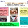 VENTE A LA FIESTA DE CABALLOS CON EL AMPA