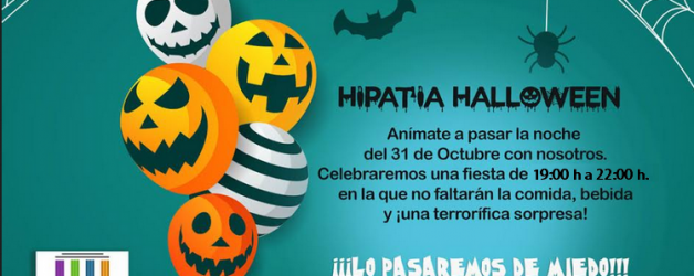 FIESTA HALLOWEEN – HIPATIA 2018