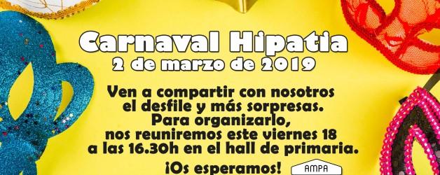 REUNIÓN CARNAVALES 2019