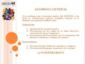 2014.01.28 Cartel Asamblea General