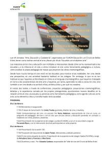 Arte Educación y ciudadanía CINE-001
