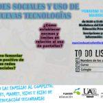 REDES SOCIALES-USO NUEVAS TECNOLOGIAS – VIERNES 10 DE MARZO