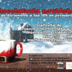 RECORDATORIO CHOCOLATADA SOLIDARIA: VIERNES 14 DICIEMBRE