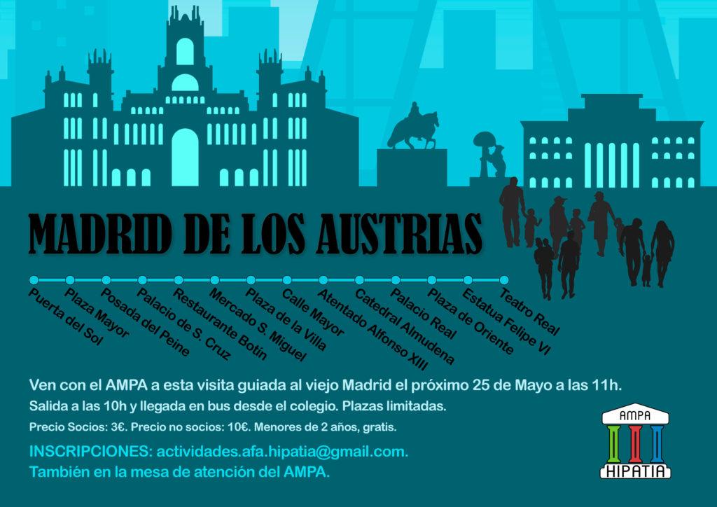 Cartel Madrid de Los Austrias